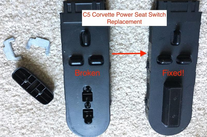 C5 corvette seat switch